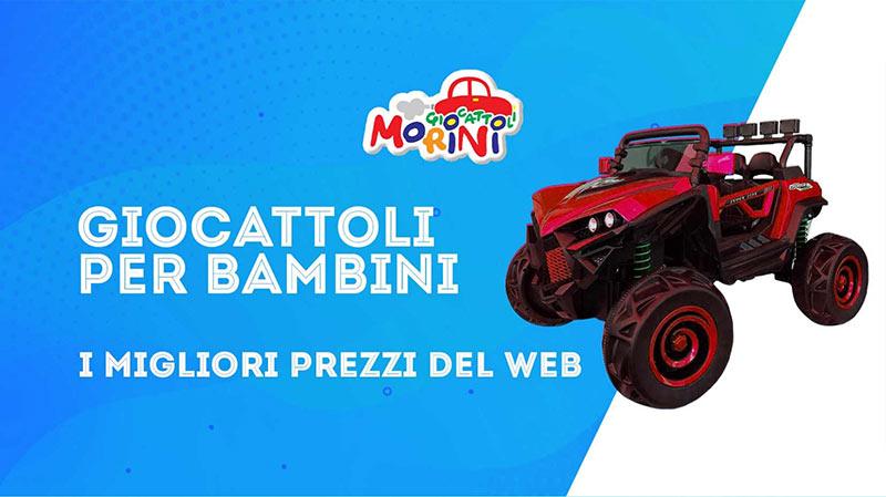 Giocattoli Morini | Il negozio online dei giochi per bambini