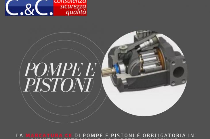 Marcatura CE di pompe e pistoni