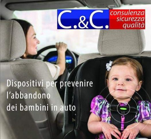 Dispositivi per prevenire l'abbandono dei bambini nei veicoli chiusi