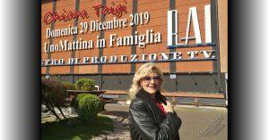 Chiara Taigi - RAI UNO UnoMattina in Famiglia - Domenica 29 Dicembre 2019 ore 9:20