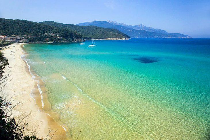 isola italiana elba